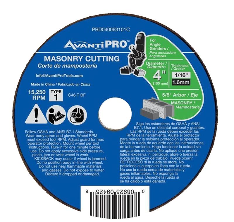 DEWALT DWA8051C Masonry Cut-Off Wheel 4-1//2-Inch X .045-Inch X 7//8-Inch