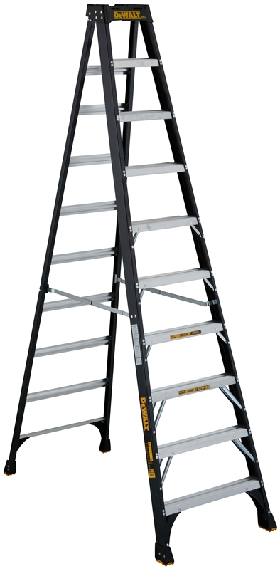 Dewalt Dxl3010 10 Step Ladder 300 Lb 3 3 3 4 In