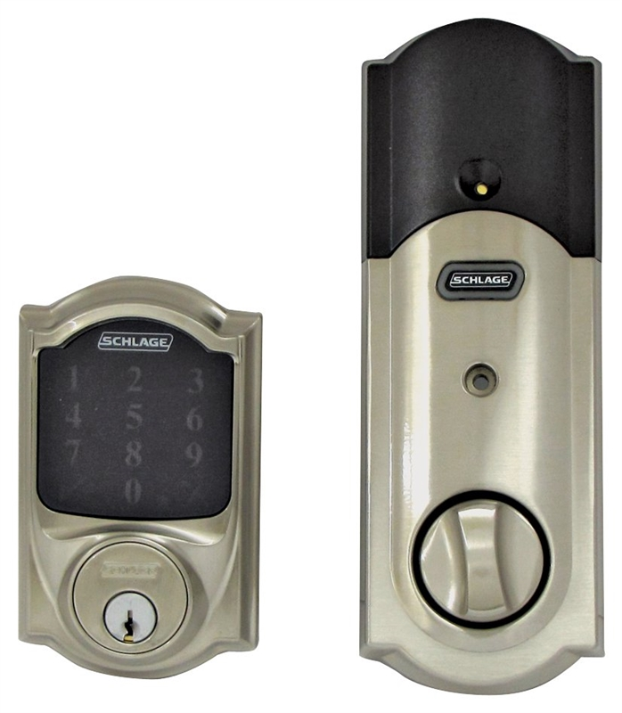 Schlage Be469nxvcam619 Electronic Entry Motorized