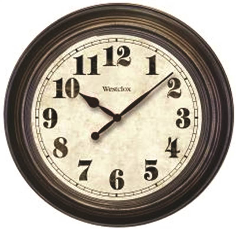 Westclox Clic Large Wall Clock