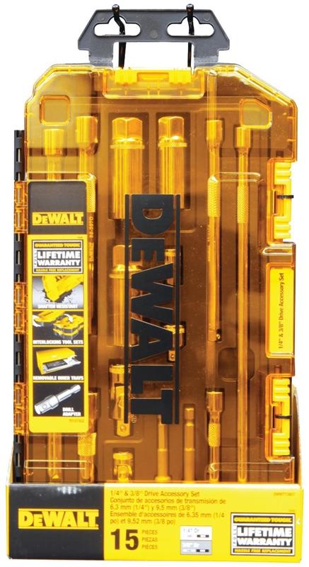 Quantity 1 Dewalt DWMT73807 SAE Socket Accessory Set