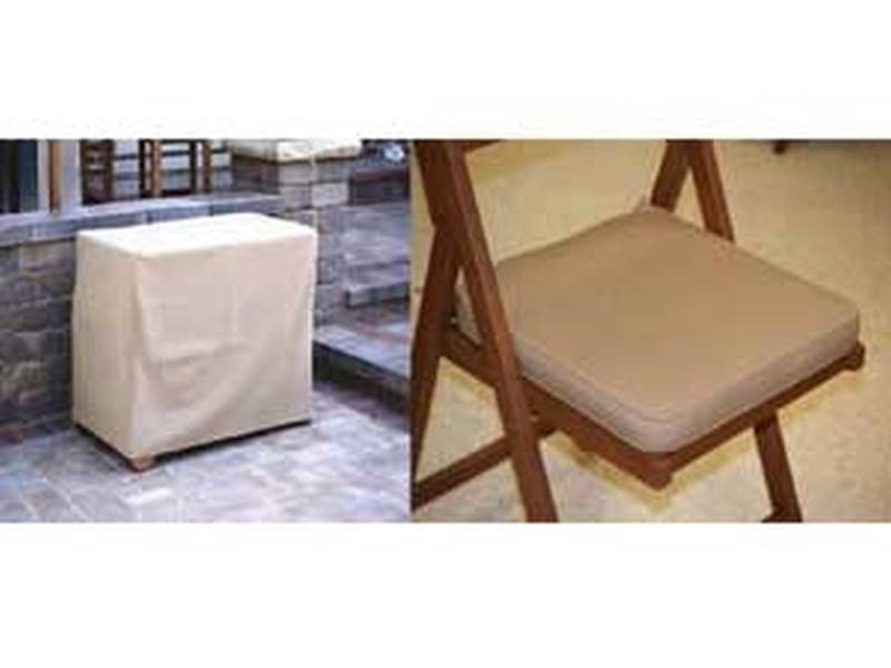 Outdoor Interiors Cuscv2 300 Gram P 7 Piece Cushion And Cover Set Beige