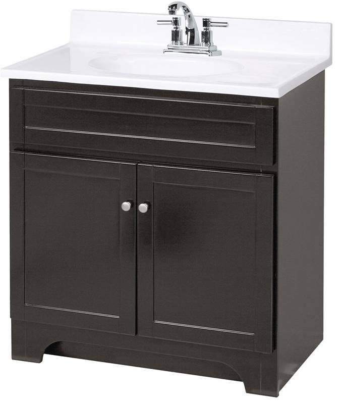 Vanity columbia espresso - Preston hardware bathroom vanities ...