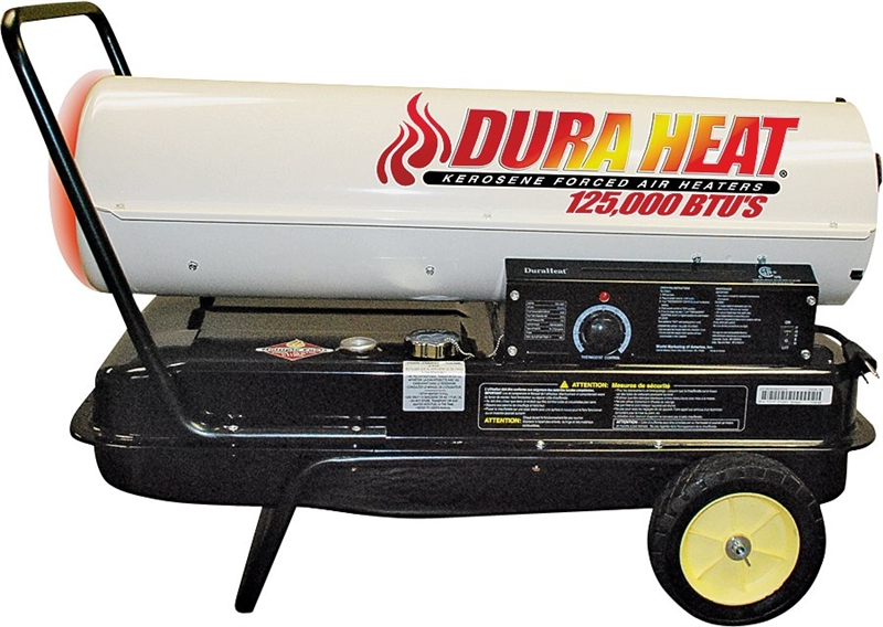 Duraheat Dfa125c Forced Air Heater With Thermostat 130000