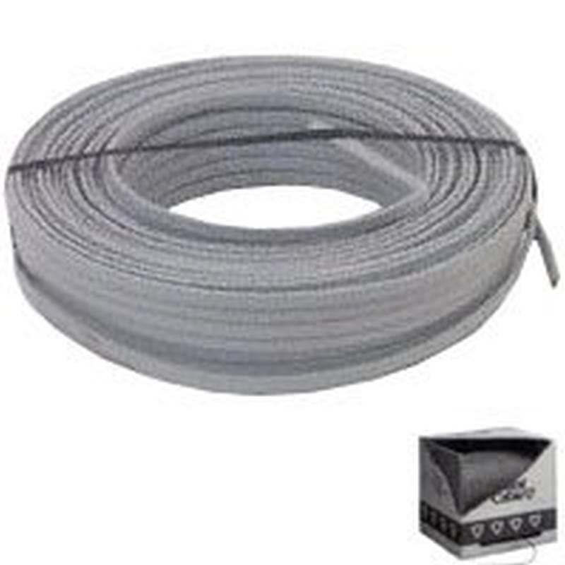 Romex SIMpull 14/3UF-WGX50 Type UF-B Building Wire, 14/3, 50 ft, PVC