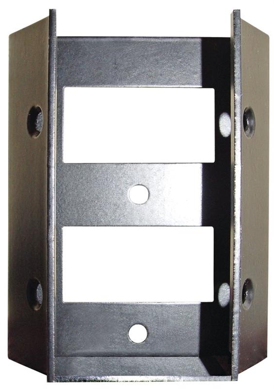 CONNECTOR STAIR/DECK RAIL 4PK