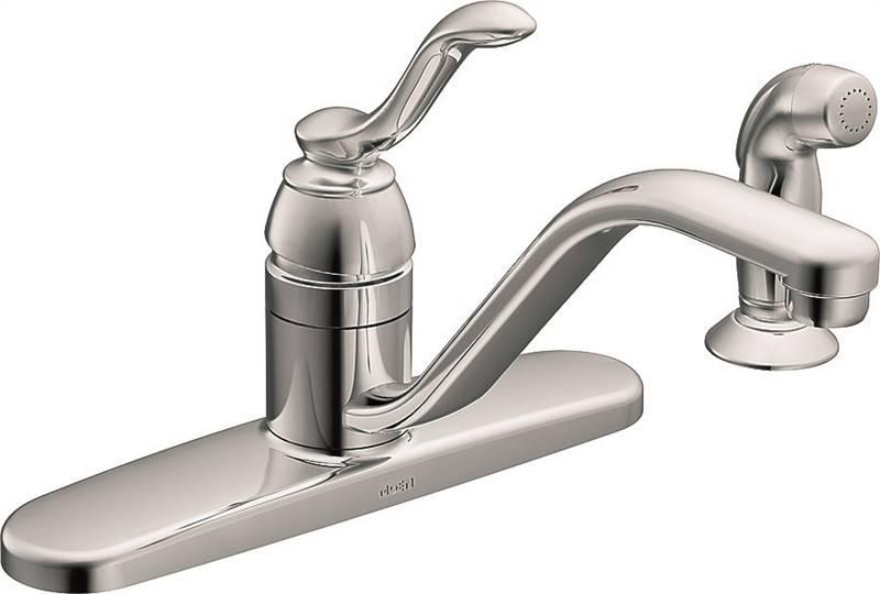 moen banbury kitchen faucet 9 in x 6 5 16 in spout 8 in