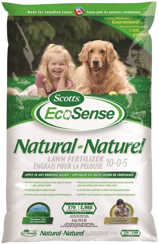 Scotts Ecosense 00504 Natural Lawn Fertilizer