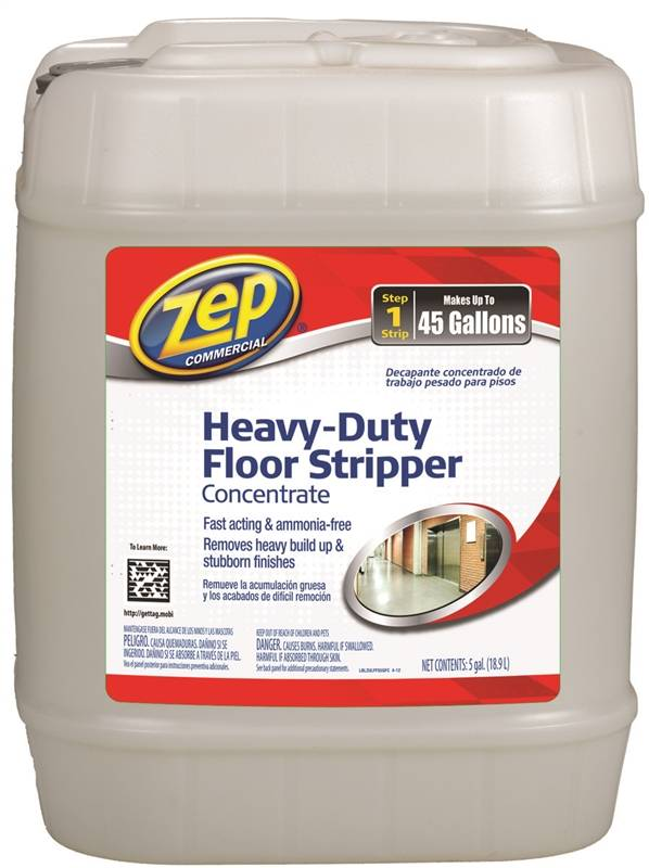 Zep Zulffs5g Heavy Duty Floor Stripper Concentrate 5 Gal