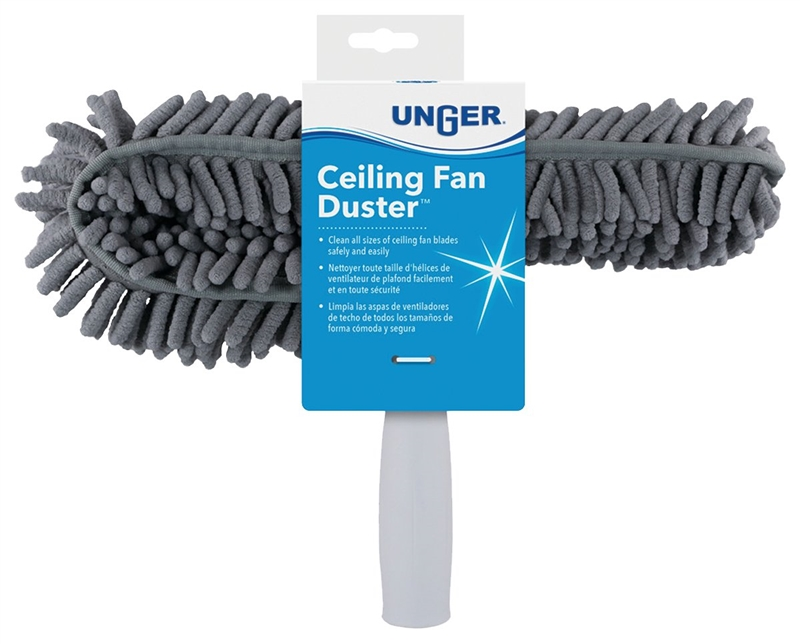 Unger 962660 ceiling fan duster 10 in handle 3 in headband microfiber unger 962660 duster aloadofball Images