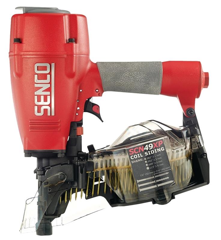 Senco 5J0001N Lightweight Siding Nailer, 250 - 375 Nails, 1-1/4 - 2 ...