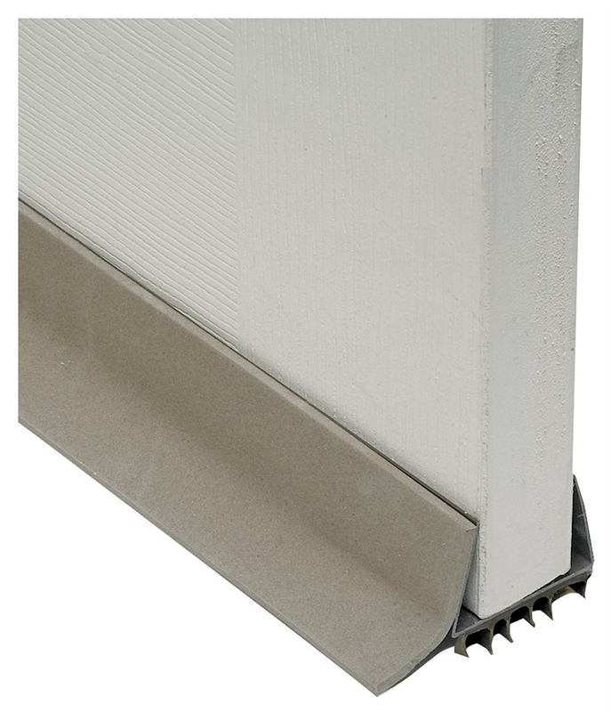 Frost King Udb77 Slide On Door Sweep Pvc Brown