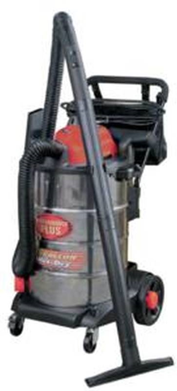 King Canada 8560LST Wet/Dry Corded Vacuum, 110 VAC, 10 5 A, 6 5 hp, 16 gal  Tank, 229 cfm