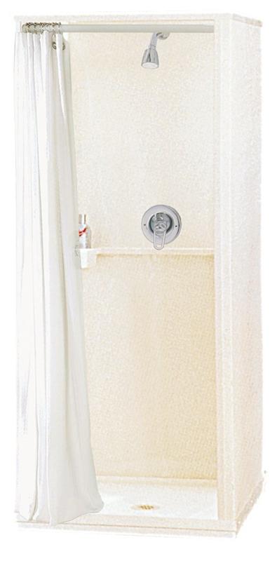 Maax Econo 101568 000 129 Free Standing Shower Stall