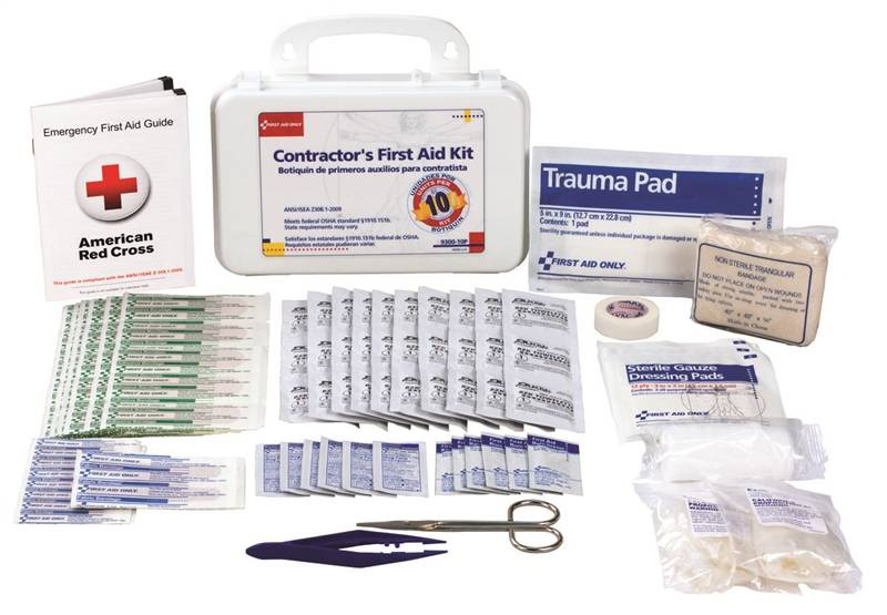 93005 KIT FIRST AID 96PC CONTRACTOR