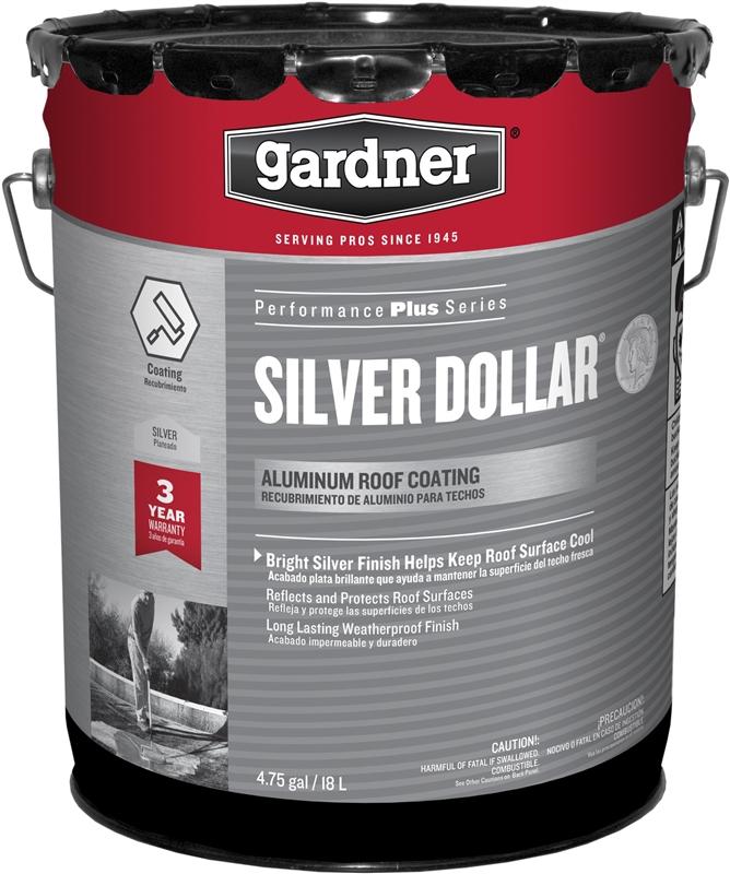 Gardner Gibson Silver Dollar Super Bright Fibered Aluminum