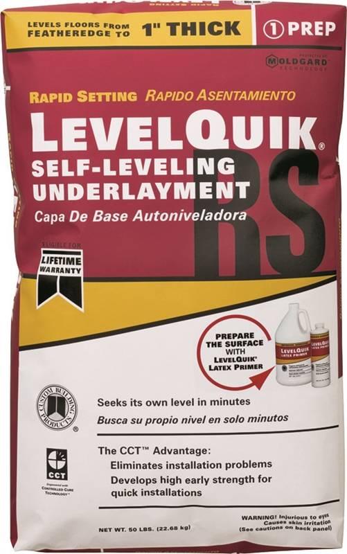 Level Quick Floor Leveler : Level quick lq self leveling underlayment lb bag