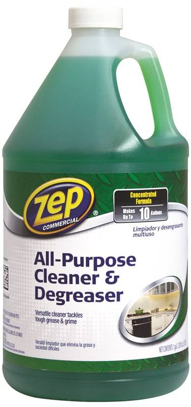 Amrep ZU0567128 Biodegradable Non-Toxic Cleaner/Degreaser, 1 gal Jug, Clear  Green Liquid