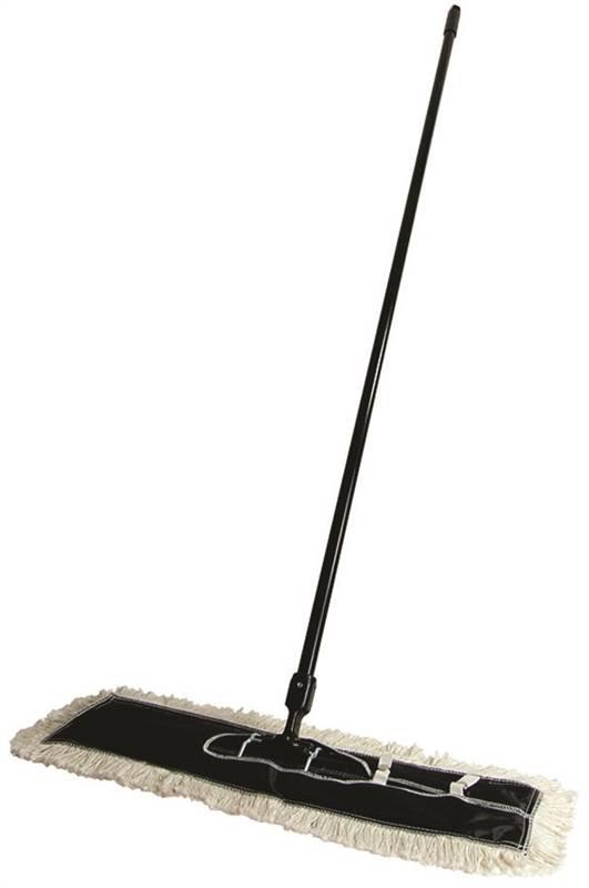 Quickie 069 4 Long Head Dust Mop Cotton Head
