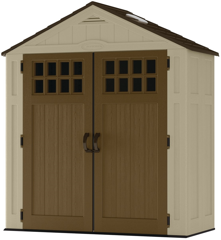 Ready to take your storage game to the next level? Look no further. This cu. ft. CASCADE Storage Shed offers everything you need to store long-handled Price: $