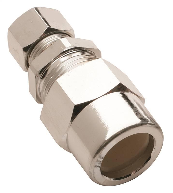 Plumb pak pp brlf straight tube transition union