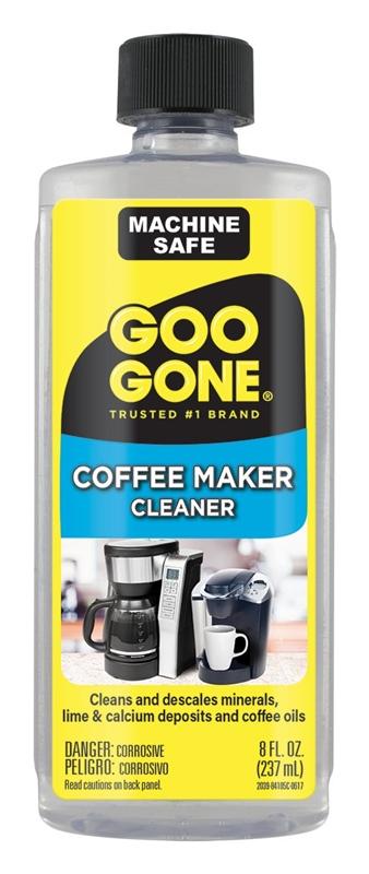 Goo Gone 2039 Coffee Maker Cleaner, 8 oz, Bottle, Clear, Liquid