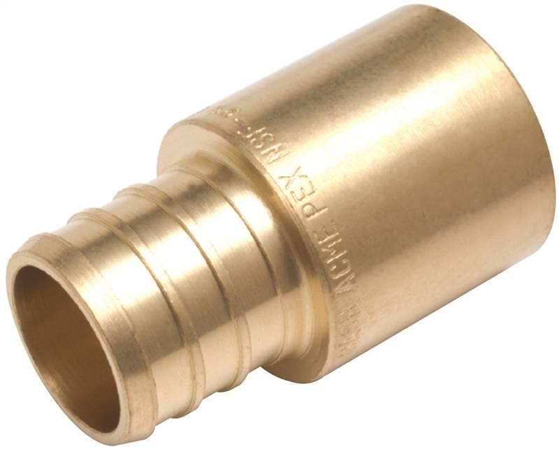 Sharkbite uc lfa hose to pipe adapter in pex barb
