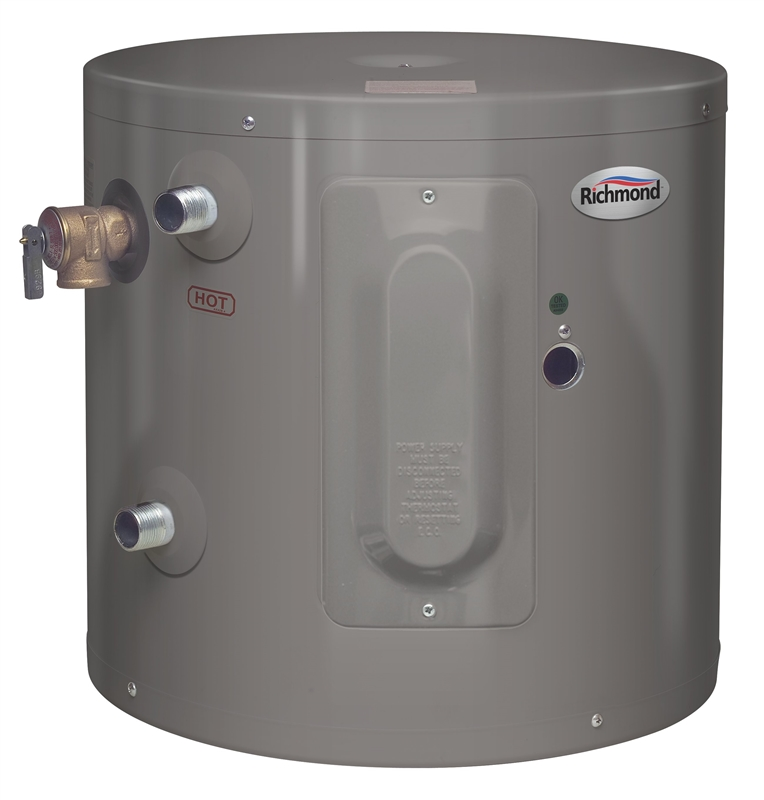 richmond water heater richmond 6ep20 1 electric water heater 2000 w 120 vac 10703