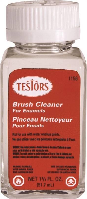 Testor 1156XT Flammable Paint Thinner, 1-3/4 oz Bottle, Liquid