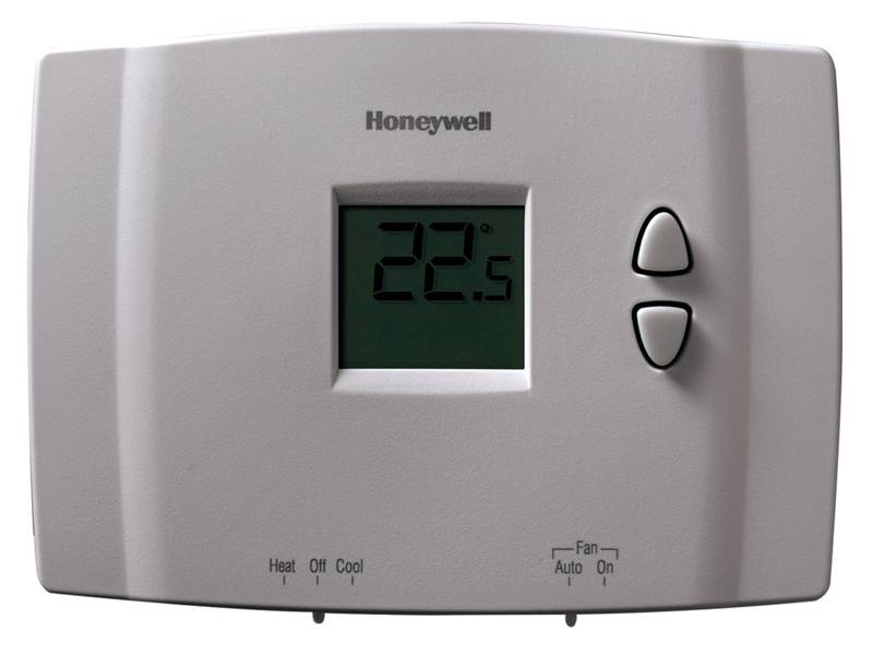 honeywell non programmable digital thermostat manual