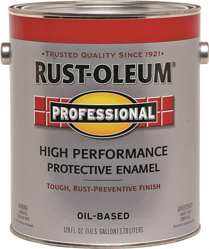 Rustoleum 7564402 high performance oil based rust preventive protective enamel paint safety red Oil based exterior paint brands