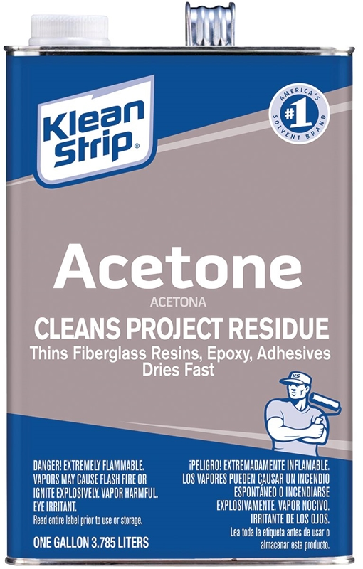 Thinner Acetone Gallon - Case of 4