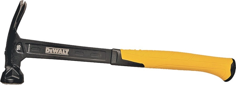 Stanley DWHT51138 Rip Claw MIG Weld Framing Hammer, 15 oz, 2 in Dia ...
