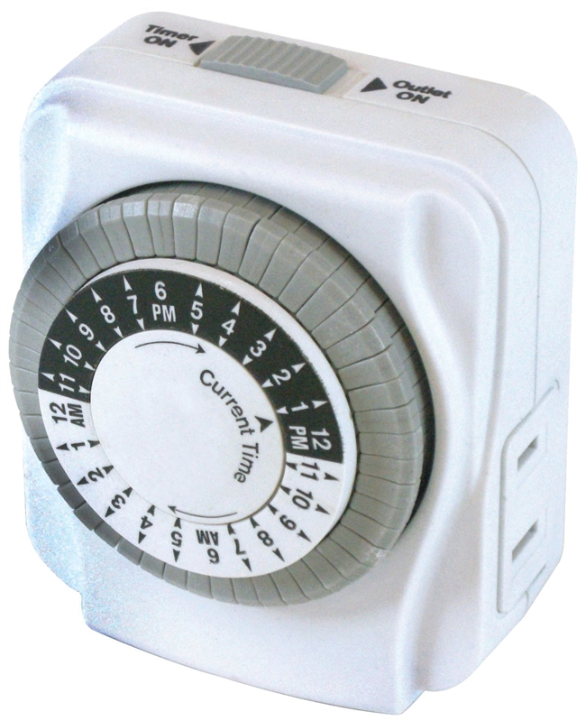 Powerzone TNI2423 Indoor Electromechanical Timer