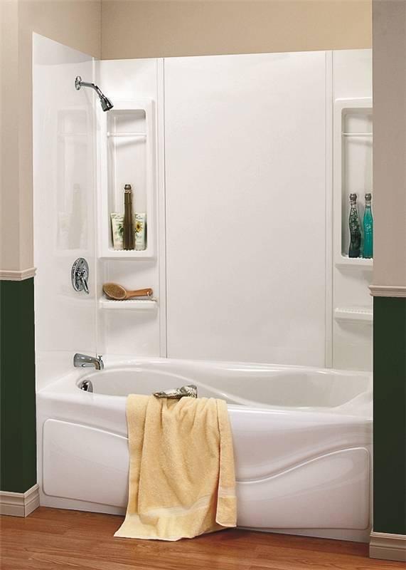 Exceptionnel Maxx Finesse 101594 000 129 5 Piece Bathtub Wall Kit
