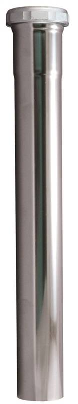1-1//2 in Dia X 4 in L Plumb Pak PP9-4CP Sink Tailpiece 1-1//2 x 4, Flanged Chrome Plated 22 Ga