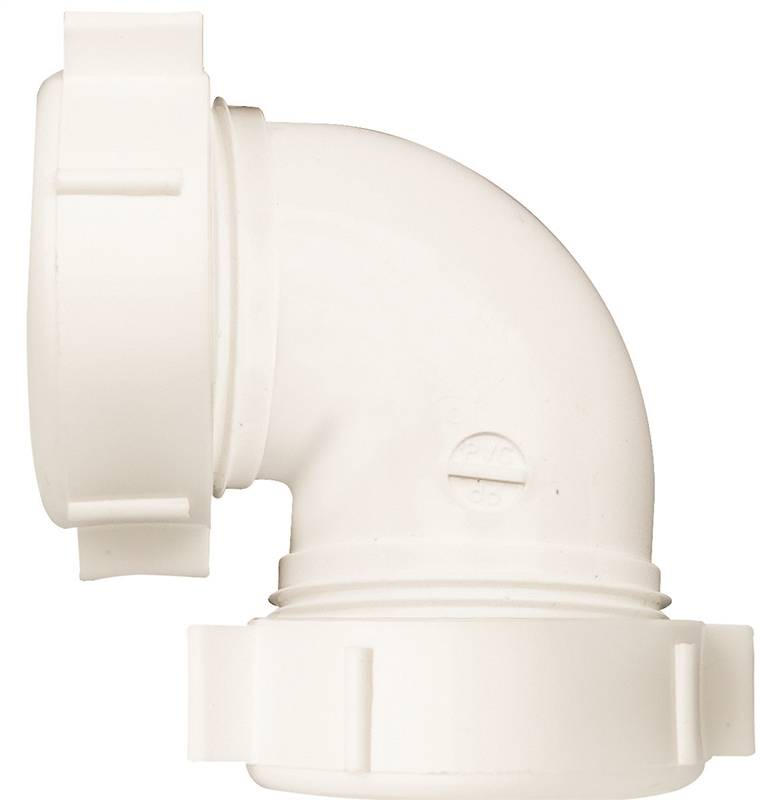 Plumb Pak Pp55 5w Sink Drain Pipe Elbow With Reducing