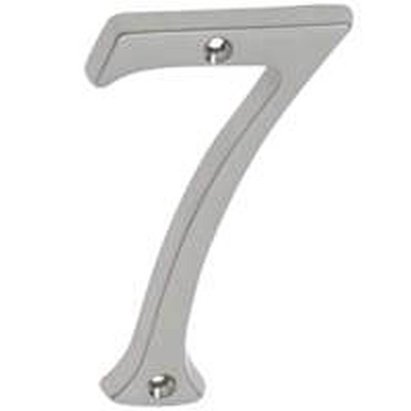Schlage sc2 3076 619 classic house number 7 for Classic house numbers