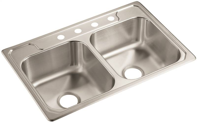 Sterling Middleton Traditional Ledge Back Self-Rimming Kitchen Sink  sc 1 st  Macu0027s Hardware & Sterling Middleton Traditional Ledge Back Self-Rimming Kitchen Sink 33 in H x 22 in W x 8 in D
