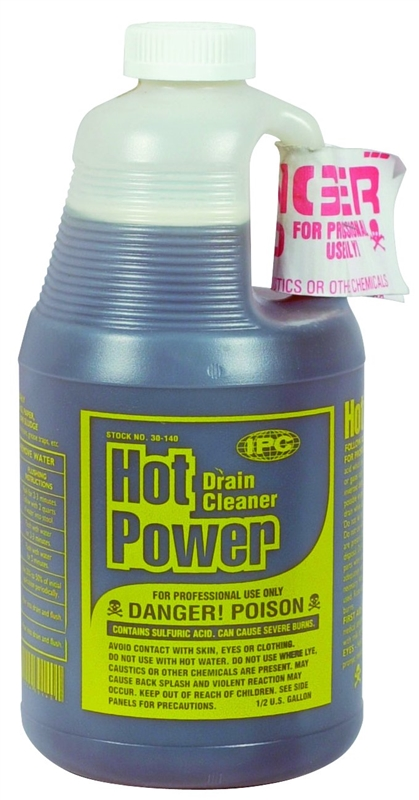 Drain Cleaner Hot Power 1 2gal Case Of 6