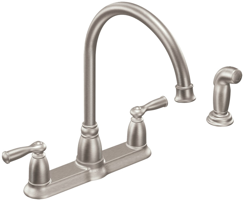 Moen Banbury Kitchen Faucet 8 7 8 In Spout 8 In Center