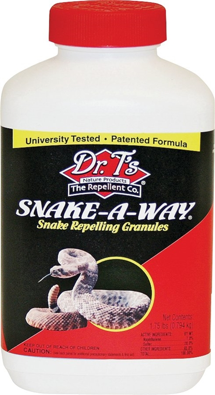Dr  T?s Snake-A-Way DT363 Snake Repellent, 1 75 lb, Light Tan, Solid,  Mothball, 0 219 acre