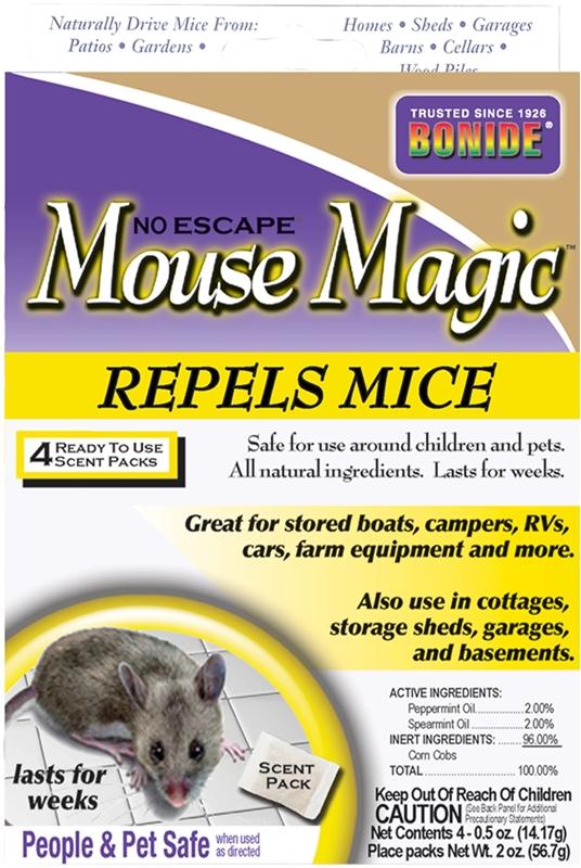 Bonide No Escape Mouse Magic 865 Repellents Mice