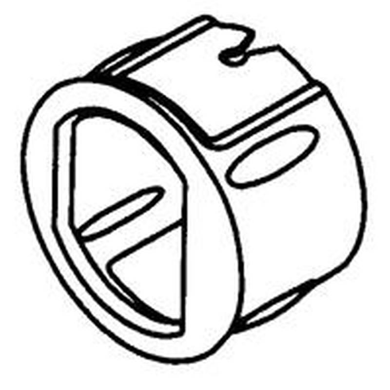 """Kwikset 81846-001 6Way Adjustable Dead Latch Core,Steel,Brass,1-3//8-1-3//4/"""" Door"""