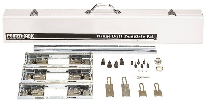 Porter-Cable 59381 Hinge Butt Template Kit, For Use with 1-3/8 - 2-1 ...