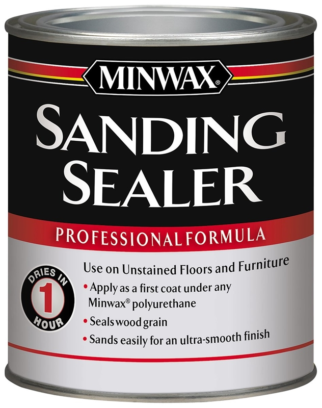 Minwax 65700 Water Based Sanding Sealer 1 Qt Cream