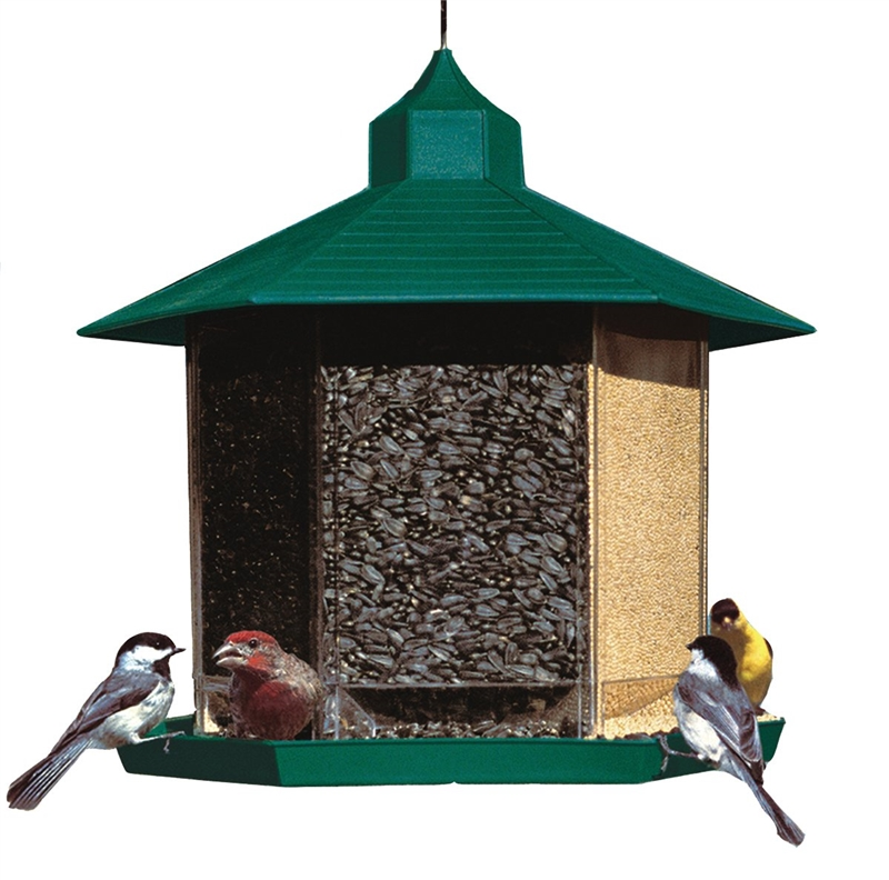 FEEDER BIRD PLSTC 6L