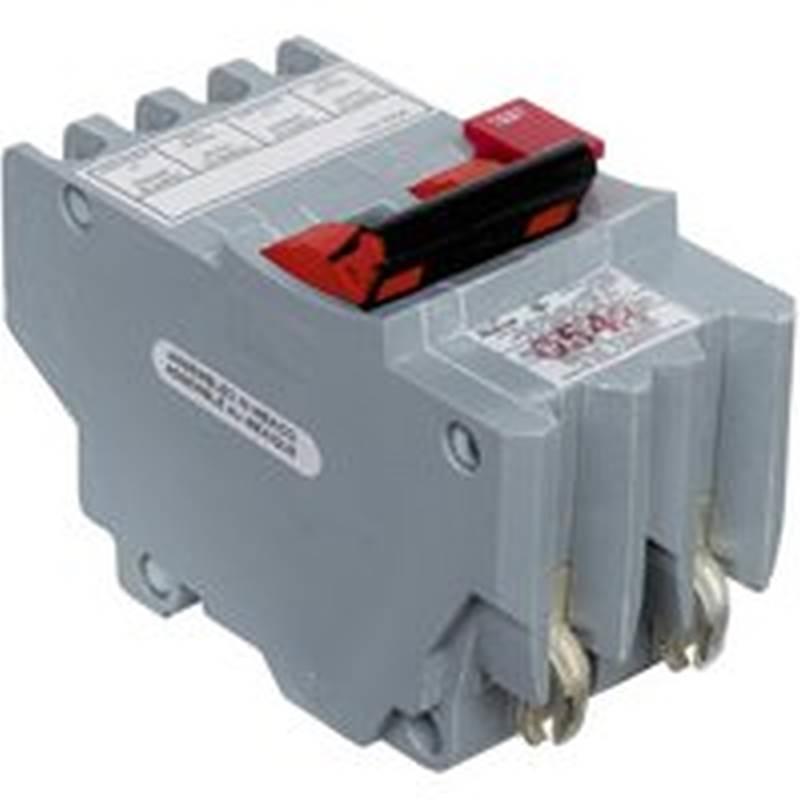 Federal Pioneer Stab-Lok NA GFCI Circuit Breaker, 120/240 VAC, 20 A ...