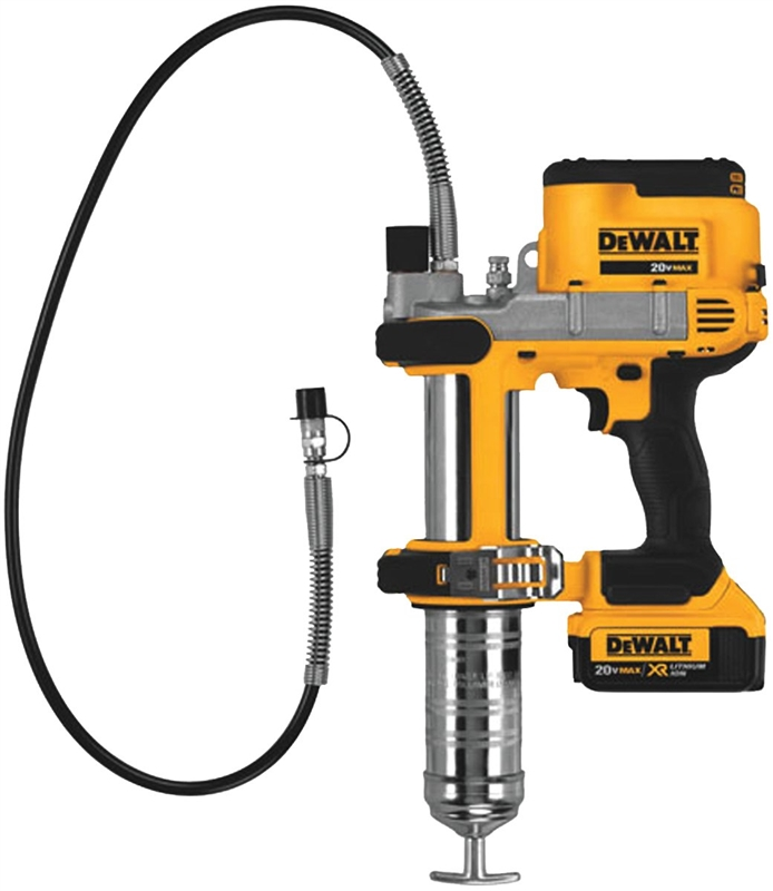 Electric Grease Gun >> Dewalt Dcgg571m1 Ion Grease Gun 5 Oz 10000 Psi Lithium Ion