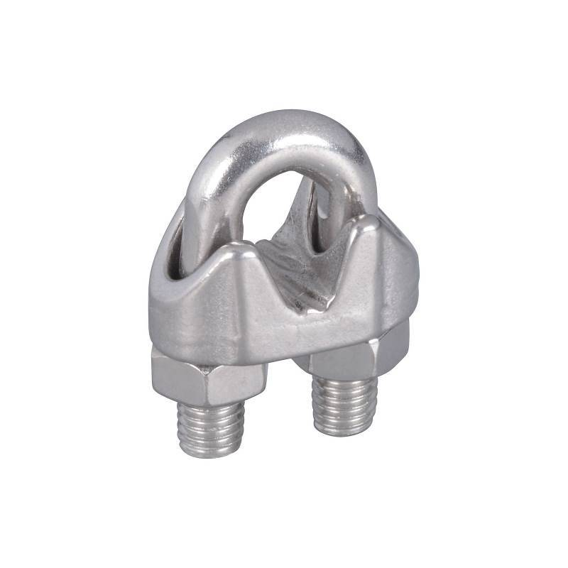 CABLE CLAMPS 1/4IN SS